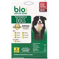 Bio Spot Active Care Flea & Tick Spot On Refill for Dogs (3 Treatments), 61-150 lbs