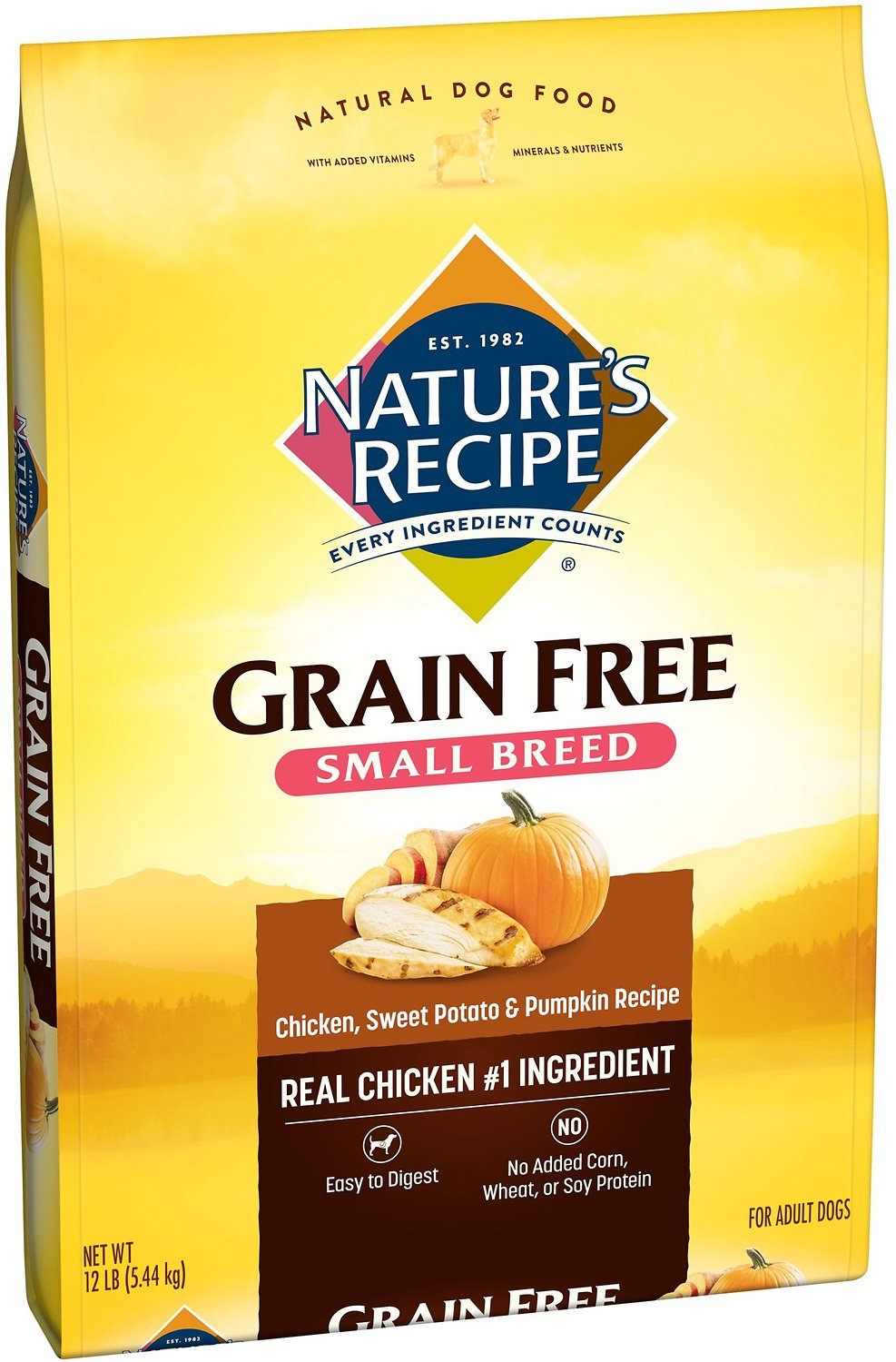 Natures recipe small breed grain free chicken sweet potato natures recipe small breed grain free chicken sweet potato pumpkin recipe dry dog food 12 lb bag chewy forumfinder Choice Image