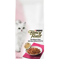 Fancy Feast Gourmet Filet Mignon Flavor with Real Seafood & Shrimp Dry Cat Food, 7-lb bag