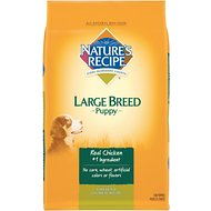 Nature's Recipe Large Breed Puppy Chicken & Oatmeal Recipe Dry Dog Food, 14-lb bag