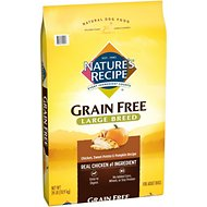 Nature's Recipe Large Breed Grain-Free Chicken, Sweet Potato & Pumpkin Recipe Dry Dog Food, 24-lb bag
