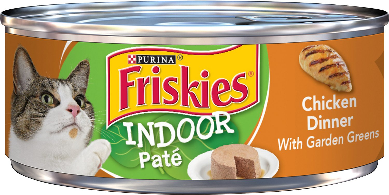 Friskies Indoor Canned Cat Food Calories