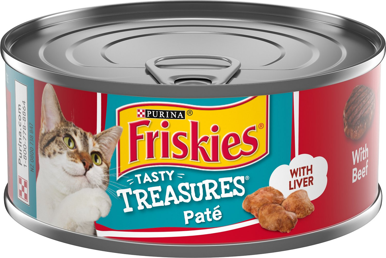 Friskies Cat Food With Cheese