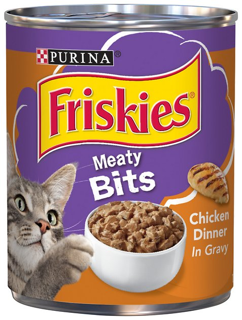 Friskies Meaty Bits  Oz Canned Cat Food