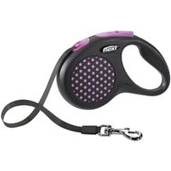 Flexi City Retractable Tape Dog Leash, Pink
