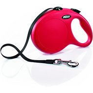 Flexi Explore Retractable Cord & Tape Dog Leash, Red, Large
