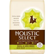 Holistic Select Small & Mini Breed Adult Health Anchovy, Sardine & Chicken Meals Recipe Dry Dog Food, 12-lb bag