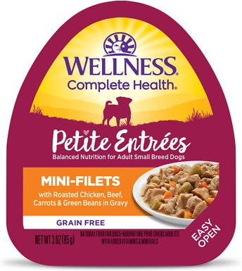 8. Wellness Petite Entrees Natural Meals for Smaller Dogs