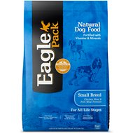 Eagle Pack Small Breed Chicken Meal & Pork Meal Formula Dry Dog Food, 30-lb bag
