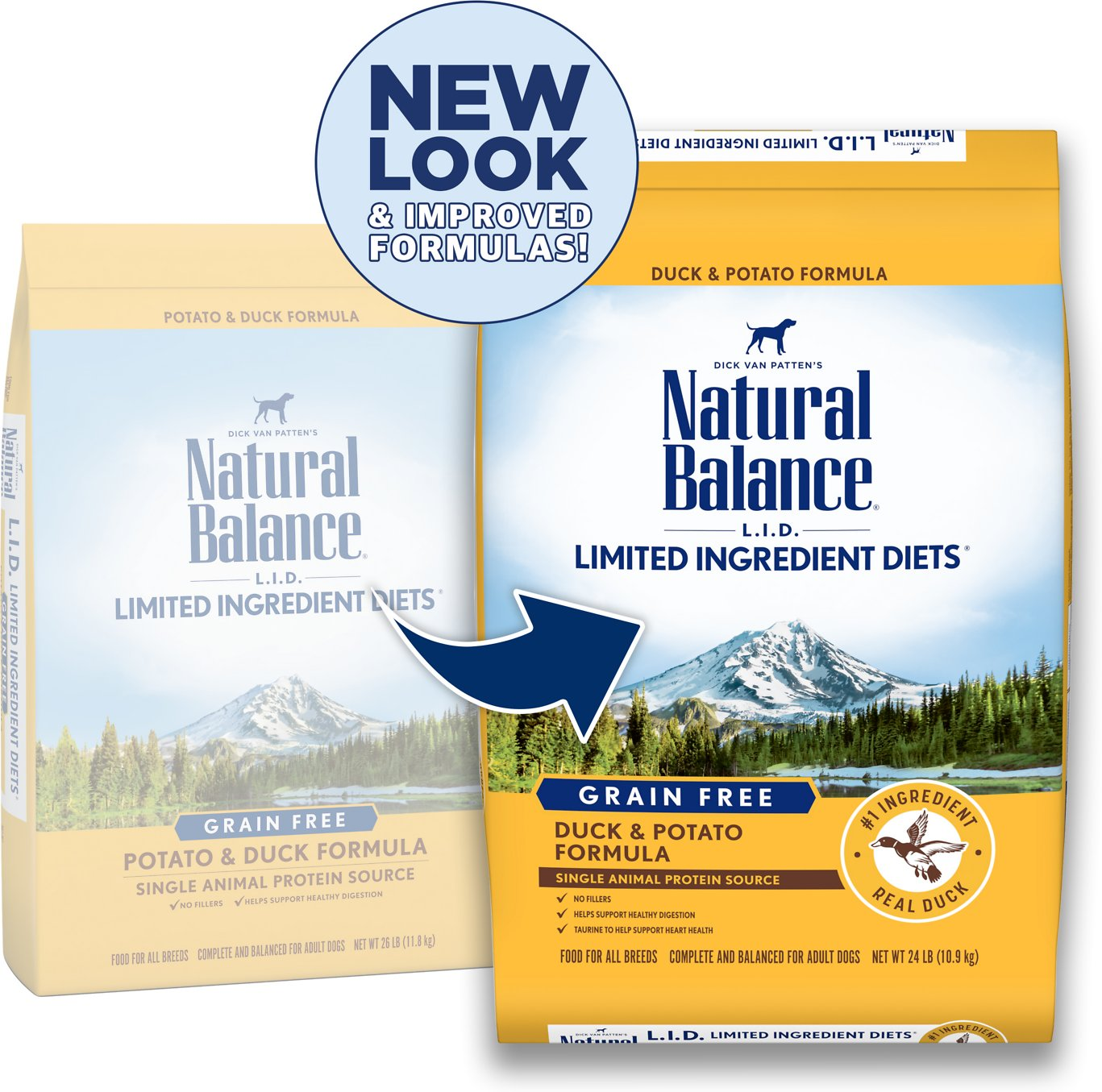 Natural Balance L.I.D. Limited Ingredient Diets Potato