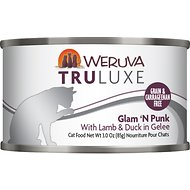 Weruva Truluxe Glam 'N Punk with Lamb & Duck in Gelee Canned Cat Food, 3-oz, case of 24