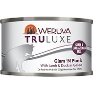Weruva Truluxe Glam 'N Punk with Lamb & Duck in Gelee Grain-Free Canned Cat Food, 6-oz, case of 24
