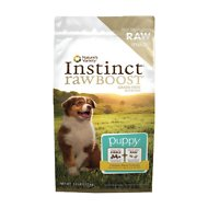 Instinct by Nature's Variety Raw Boost Grain-Free Chicken Meal Recipe Puppy Dry Dog Food, 5-lb bag