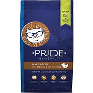 Nature's Variety Pride by Instinct Diva's Recipe with Real Duck & Sweet Potatoes Dry Cat Food, 5-lb bag