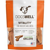 Dogswell Vitality Grillers Chicken Recipe Dog Treats, 15-oz bag