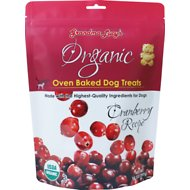 Grandma Lucy's Organic Cranberry Oven Baked Dog Treats, 14-oz bag