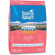 Natural Balance Original Ultra Whole Body Health Calamari, Salmon Meal & Duck Meal Formula Dry Cat Food, 10-lb bag