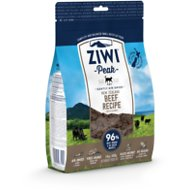 ZiwiPeak Daily-Cat Beef Cuisine Grain-Free Air-Dried Cat Food, 14-oz bag