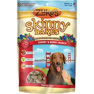 Zuke's Skinny Bakes Cherry 'N Berry Crunch Dog Treats, 12-oz bag