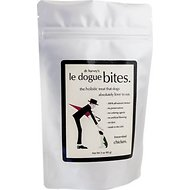 Dr. Harvey's Le Dogue Bites Chicken Freeze-Dried Dog Treats, 3-oz bag