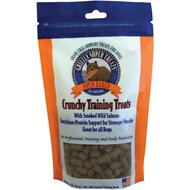 Grizzly Smoked Wild Salmon Grain-Free Oven Baked Training Dog Treats, 5-oz bag