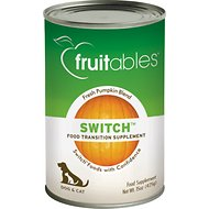 Fruitables Switch Pet Food Transition Dog & Cat Supplement, 15-oz, case of 12