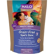 Halo Spot's Stew Healthy Weight Grain-Free Game Bird Medley Recipe Adult Dry Cat Food, 6-lb bag