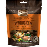 Merrick Kitchen Bites Turducken Grain-Free Biscuits Dog Treats, 9-oz bag