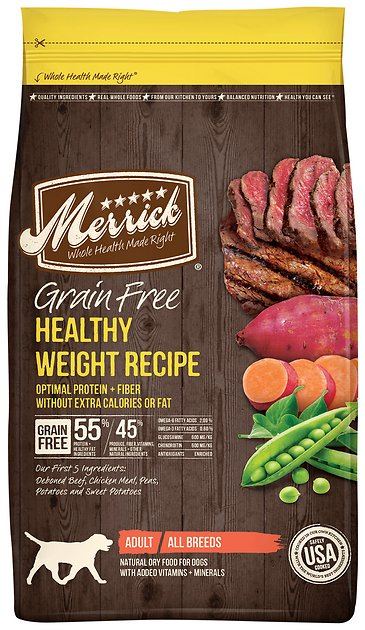 Merrick Grain Free Healthy Weight Dog Food Reviews