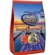 NutriSource Grain-Free Ocean Select Entree Dry Cat Food, 6.6-lb bag