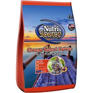 NutriSource Grain-Free Ocean Select Entree Dry Cat Food, 15-lb bag