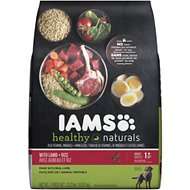 Iams Healthy Naturals with Lamb & Rice Adult Dry Dog Food, 23.2-lb bag