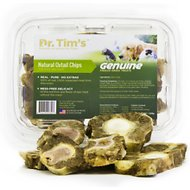 Dr. Tim's Natural Oxtail Chips Genuine Freeze-Dried Dog & Cat Treats, 8-oz container