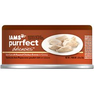 Iams Purrfect Delicacies Select Cuts with Roasted Chicken Entree in Gravy Canned Cat Food, 2.47-oz, case of 24
