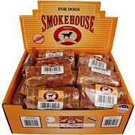 "Smokehouse USA 4-5"" Toobles Trachea Bone Dog Treats, Case of 25"