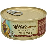 Wild Calling Cabin Fever 96% Chicken Grain-Free Adult Canned Cat Food, 5.5-oz, case of 24