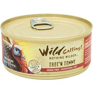 Wild Calling Trot'n Tommy 96% Turkey Grain-Free Adult Canned Cat Food, 5.5-oz, case of 24