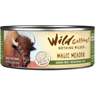 Wild Calling Magic Meadow 96% Buffalo Grain-Free Adult Canned Cat Food, 5.5-oz, case of 24