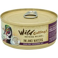 Wild Calling Inland Waters Duck Recipe Grain-Free Adult Canned Cat Food, 5.5-oz, case of 24