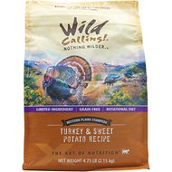 Wild Calling Western Plains Stampede Turkey & Sweet Potato Recipe Grain-Free Dry Cat Food, 4.75-lb bag