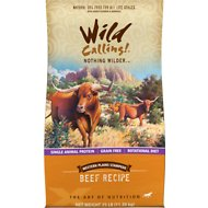 Wild Calling Western Plains Stampede Beef Recipe Grain-Free Dry Dog Food, 25-lb bag