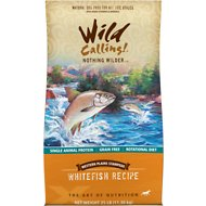Wild Calling Western Plains Stampede Whitefish Recipe Grain-Free Dry Dog Food, 25-lb bag