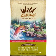 Wild Calling Rocky Mountain Medley Trout, Lamb Meal & Turkey Meal Recipe Grain-Free Dry Dog Food, 13-lb bag
