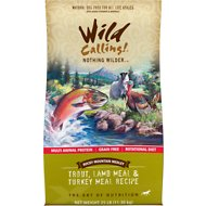 Wild Calling Rocky Mountain Medley Trout, Lamb Meal & Turkey Meal Recipe Grain-Free Dry Dog Food, 25-lb bag