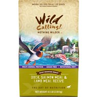 Wild Calling Rocky Mountain Medley Duck, Salmon Meal & Lamb Meal Recipe Grain-Free Dry Dog Food, 4.5-lb bag