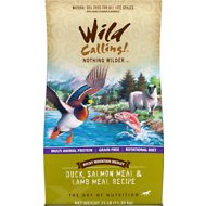 Wild Calling Rocky Mountain Medley Duck, Salmon Meal & Lamb Meal Recipe Grain-Free Dry Dog Food, 25-lb bag