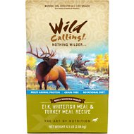 Wild Calling Rocky Mountain Medley Elk, Whitefish Meal & Turkey Meal Recipe Grain-Free Dry Dog Food, 4.5-lb bag