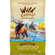 Wild Calling Rocky Mountain Medley Elk, Whitefish Meal & Turkey Meal Recipe Grain-Free Dry Dog Food, 13-lb bag