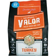 Grandma Lucy's Valor Grain-Free Turkey & Quinoa Freeze-Dried Dog Food, 10-lb bag