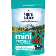 Natural Balance Mini-Rewards Chicken Formula Dog Treats, 4-oz bag